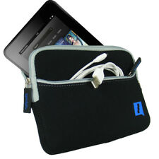 """Black Neoprene Case Cover for Amazon Kindle Fire HD HDX 7"""" 2012 & 2013 Pouch"""