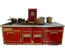 Molteni Custom Wall Cooking Suite / Stove.  Handmade in France. (La Cornue)