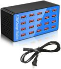 USB Charger Station,20-Port 100W/20A Multiple USB Charging Station,Multi Ports