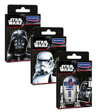 16 Hansaplast Star Wars CEROTTI STRISCE R2D2 C3PO Darth Vader Bambini Disney