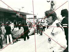Photo Renault presse René Arnoux GP Argentine 1980 Formule 1