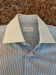Brioni business shirt! 100% cotton Made in Italy!
