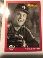 1991 Leaf Pete Harnisch Houston Astros 177