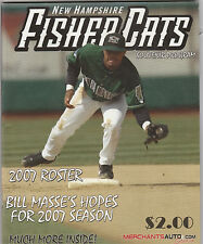 2007  NEW HAMPSHIRE FISHER CATS PROGRAM