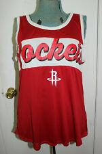 NBA BASKETBALL NEW ERA WOMENS HOUSTON ROCKETS TANK TOP SIZE XL
