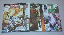 Mighty avengers lot 25-34 run set collection movie marvel comics book iron man