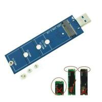2230 2242 2260 2280 M.2 B Key NGFF SATA SSD to USB 3.0 Adapter Converter C8W3