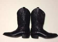 Ariat Heritage Black Leather Men's Western Cowboy Boots Size 9.5 D #34770