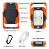 Portable LED Work Light - Solar Rechargeable 4400 mAh Waterproof Floodlight SOS