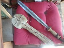 SUPER OLD & RARE AFRICAN MACHETE ...OR... MAASAI SWORD