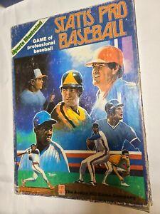 Statis Pro Major League Game Of Pro Baseball w/1987 season Blue Box