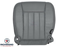 2006 Dodge Dakota Laramie SLT 4X4 2WD-Driver Side Bottom Leather Seat Cover Gray