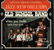 """OLD SCHOOL BAND """"WHEN YOU SMILE"""" JAZZ LP 1973 MLP 10204"""