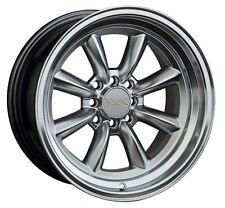 XXR 537 16X8 Rims 4x100/114.3 +20 Silver Wheels (Set of 4)