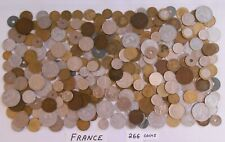 World Coin Lot:  266 Foreign Coins from France