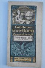 K.Neumann - Goldene Schülerbibliothek Band 27 und 28