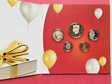 US MINT 2013 HAPPY BIRTHDAY COIN SET 5X COIN PROOF SET