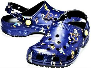 Walt Disney World Parks 50th Anniversary Crocs Clogs M6 W8 Women Womens Sz 8 New