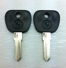 """"""" 2 PCS """"BMW KEY BLANK SERIES 3 5 7 M3 M5 E30 E24 E28 FREE SHIPPING SKIN LOGO"""