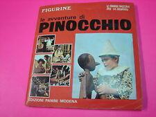 Album figurine LE AVVENTURE DI PINOCCHIO Panini 1972 COMPLETO con tagliandi !!