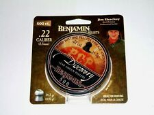 BENJAMIN DISCOVERY .22 CALIBER HOLLOW POINT HUNTING PELLETS 500 Count CAN - USA