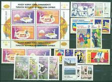 Türkisch - Zypern Jahrgang 2005 Katnr. 611 - 629 ** MNH Katalog 41,50 €