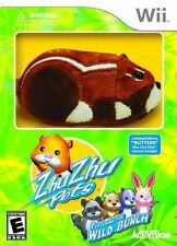 Zhu Zhu Pets: Featuring The Wild Bunch WITH Nutters Hamster Toy Wii BRAND NEW