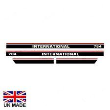 DECAL SET FITS INTERNATIONAL 784 TRACTORS.
