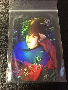 Korean Kpop INFINITE Photocard Official