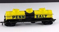 Bachmann Penn Salt Triple Dome Tank Car GATX 67925 HO Scale