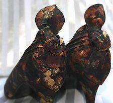 STUART WEITZMAN Damen Pumps 39,5 Textil Echt Leder Farbig Muster mit Schleife