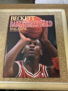 BECKETT BASKETBALL CARD MAGAZINE ISSUE #1 MICHAEL JORDAN MARCH/APRIL 1990