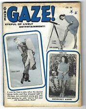 Gaze Vol. 2 No. 23 February 1959 - 4 pages of Bettie (Betty) Page