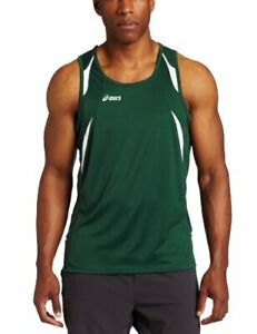 ASICS Men's Interval Sleeveless Athletic Workout Singlet Tank Shirt, Many Colors