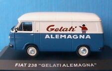 CAMION FIAT 238 GLACE GELATI ALEMAGNA 1/43 IXO ALTAYA TOLE CAMIONNETTE D'ANTAN