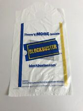 Blockbuster Video Store Plastic Bag 9 x 16 Discontinued Collectible New