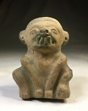 Ancient Pre Columbian Jamacoaque Indian Pottery Monkey Figure S. America