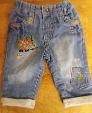 M&S baby boy jeans elasticated waist  0-3 months