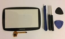 "Replacement TomTom Go 500, Go 5000 Touch Screen Digitizer Screen Glass 5"" UK"
