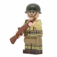 Lego Custom US ARMY RIFLEMAN WW2 Full Custom Printing with Brickarms Garand-NEW-