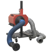 Sealey Exhaust Fume Extractor with 6m Ducting - EFS/93