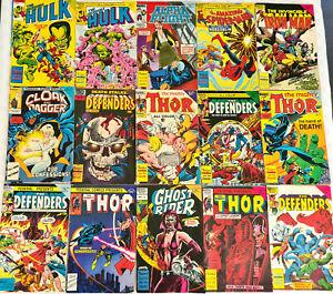 15 Australian Federal Comics 1970's 80's Hulk Thor Defenders Ghost Rider + More
