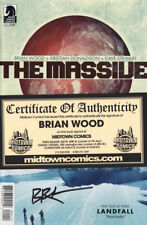 The Massive #1 SIGNED by BRIAN WOOD w/ COA from Midtown new unread NM 1st print