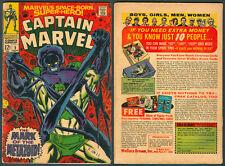 1966 U.S. MARVEL CAPTAIN MARVEL Vol. 1 No. 5 Comics