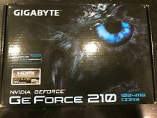 Gigabyte Nvidia GeForce 210 GV-N210SL-1GI 1GB Video Graphics Card