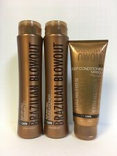 BRAZILIAN BLOWOUT SHAMPOO, CONDITIONER & MASQUE MASK SET