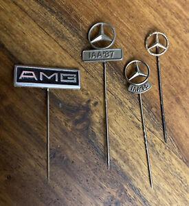 4x Mercedes Benz AMG Anstecknadel