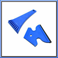 2 x Heavy Duty Ice Scraper & Squeegee for Car Windscreen Side Windows Anti Frost