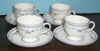 LOT OF 3 WEDGWOOD ROSEDALE CUPS AND SAUCERS  NEVER USED FREE U S SHIPPING