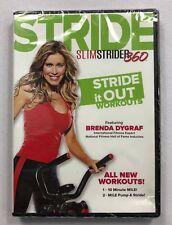 Brenda Dygraf Stride Slimstrider 360 Workout Dvd New Bj